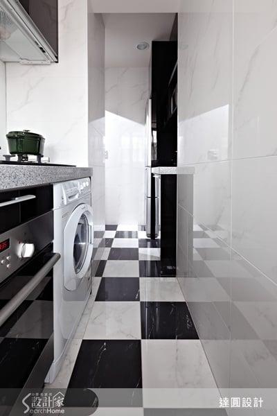善用簡潔色彩與品味家具,讓家變成Loft風咖啡廳-達圓室內空間設計-謝淑芬&設計團隊