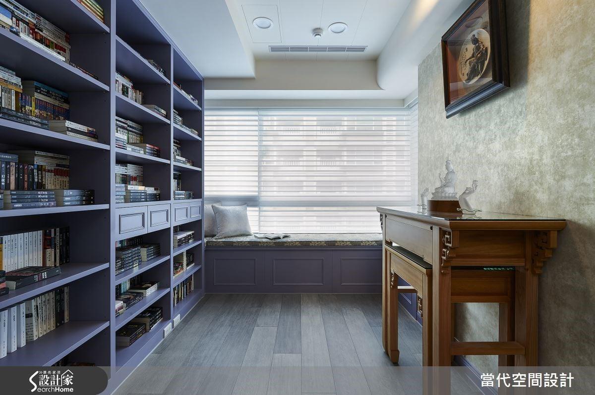 櫃體除了書籍的收納,同時是生活表情的容器,細微處透露居家性格的特有語氣。