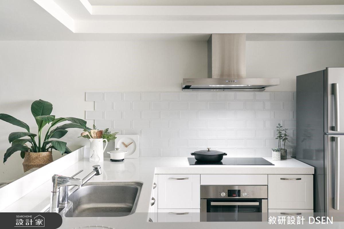 看更多開放式廚房美圖。