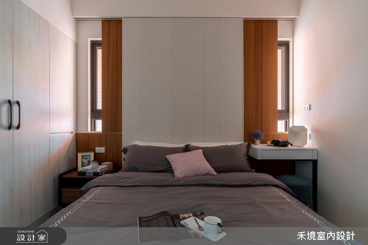 看更多臥室床頭牆案例美圖。