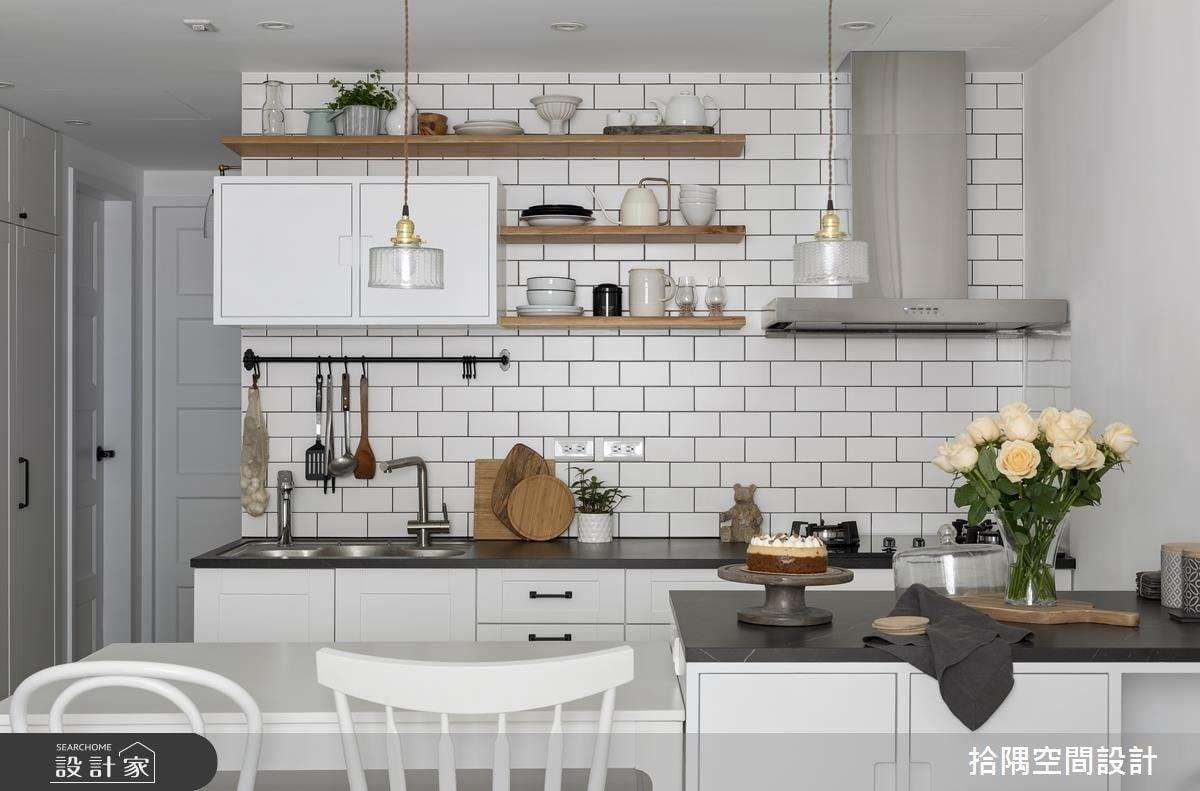 看更多小坪數廚房設計美圖。