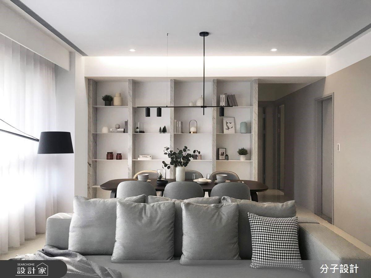 質感灰刷出過目不忘的好氣質!現代宅精緻品味從雙色收納牆開啟